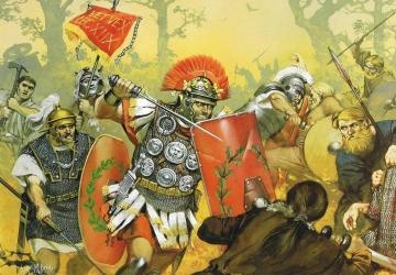 Bataille romaine