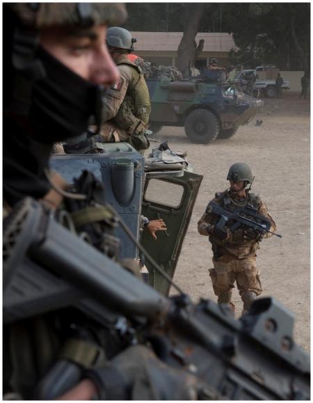 troupes françaises Mali