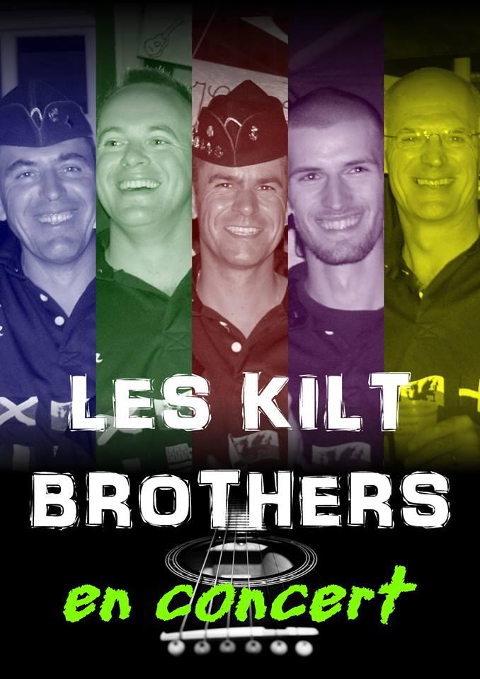 Les Kilt brothers groupe de folk rock celtique
