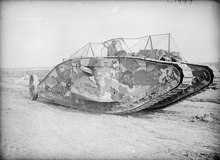 Photo issue de la collection du ministère de l'information britannique sur la Grande Guerre
