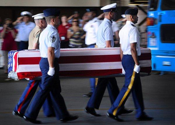 Soldats US  morts