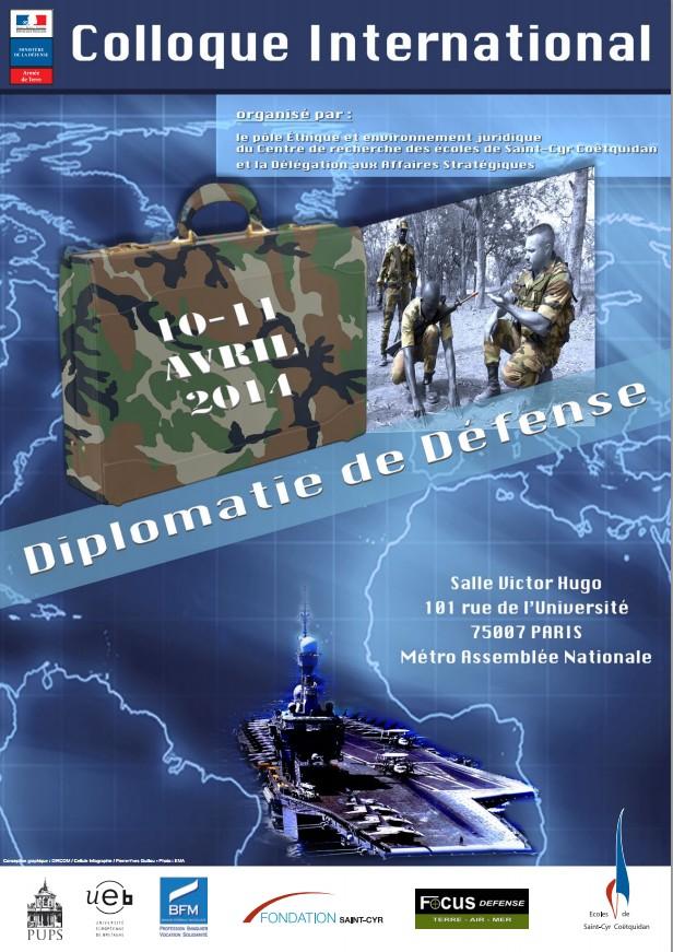 Colloque diplomatie défense