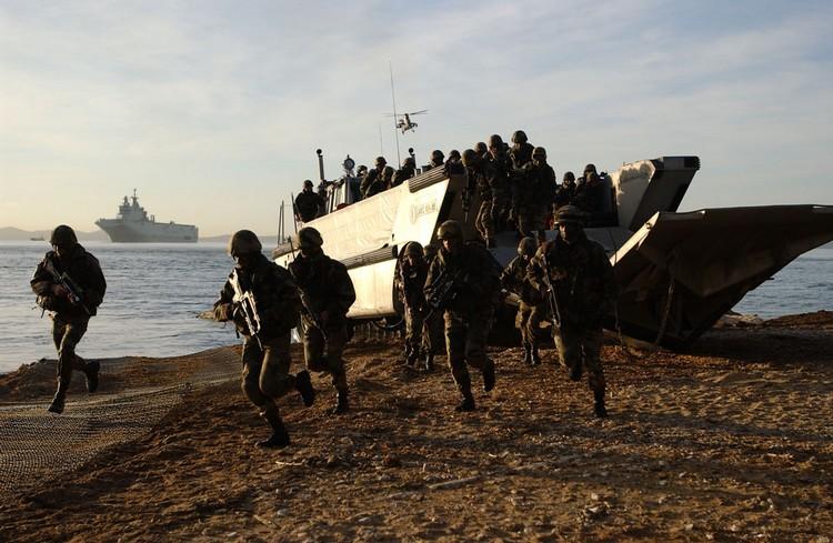 Opération amphibie