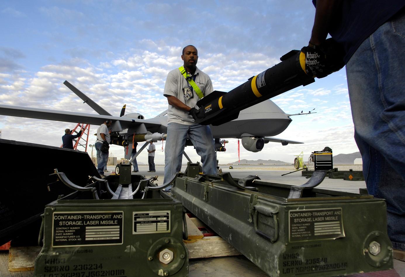 Armement d'un drone