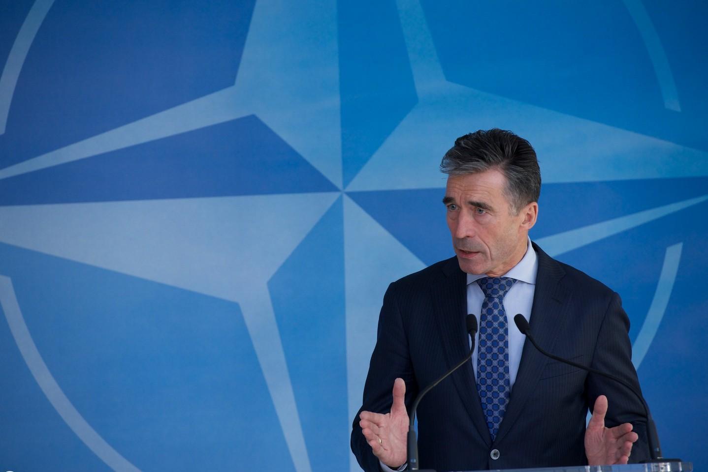 Secrétaire Général de l'Otan Anders Fogh Rasmussen. Crédit : Otan