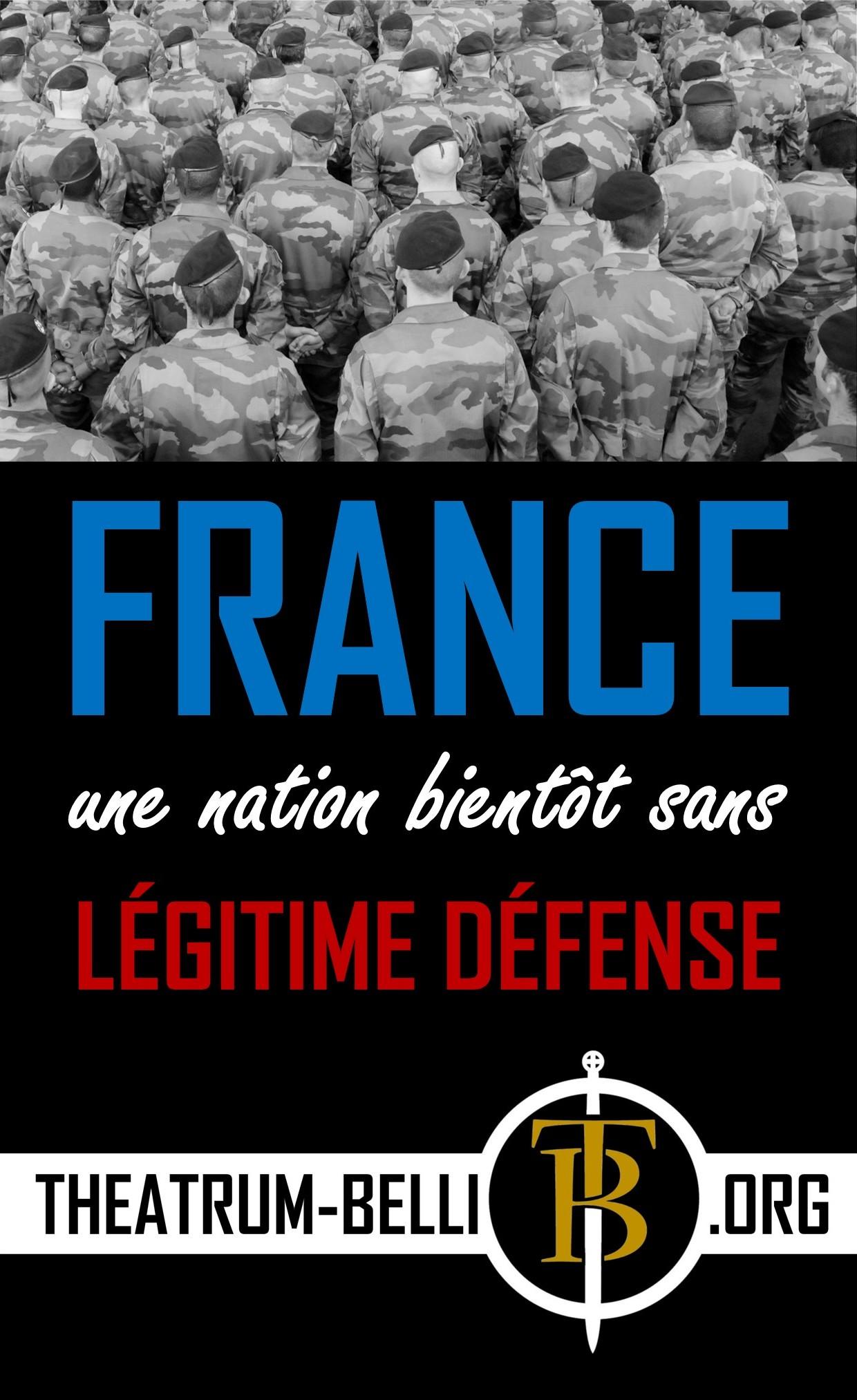 France légitime défense 3