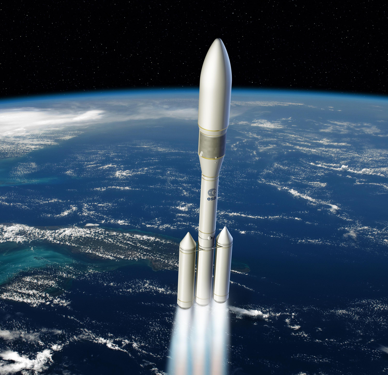 Proposition Ariane 6. Crédit illustration : ESA