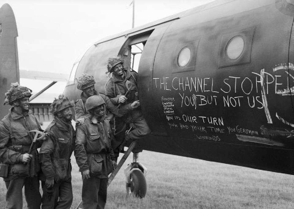 British Paratroopers with Glider, 2nd drop D-Day