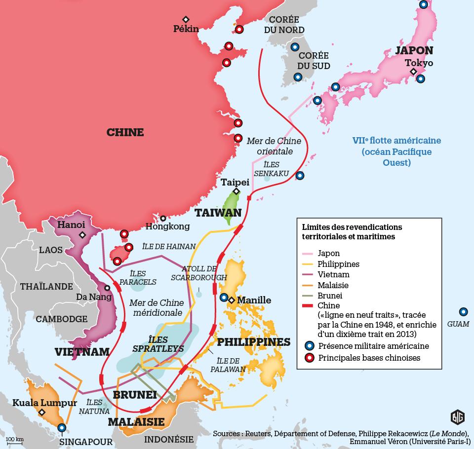 """Résultat de recherche d'images pour """"Mer de Chine Cartes"""""""