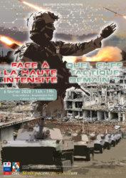 Face à la haute intensité, quel chef tactique demain ? @ Ecole militaire - Amphi Foch