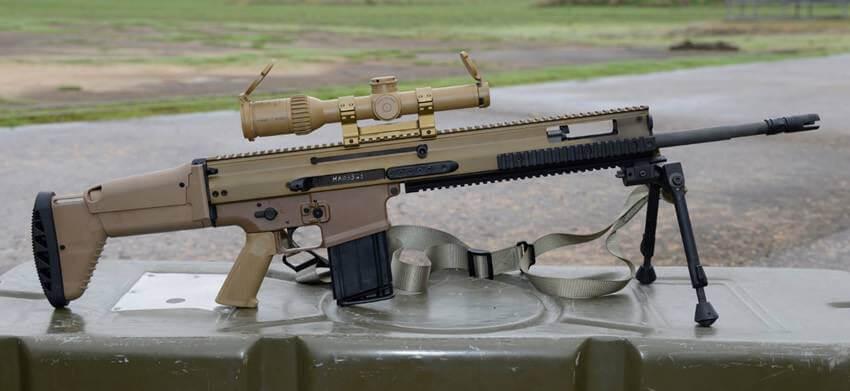 Fusil de précision : Le SCAR de FN Herstal remplacera le FR-F2 SCAR