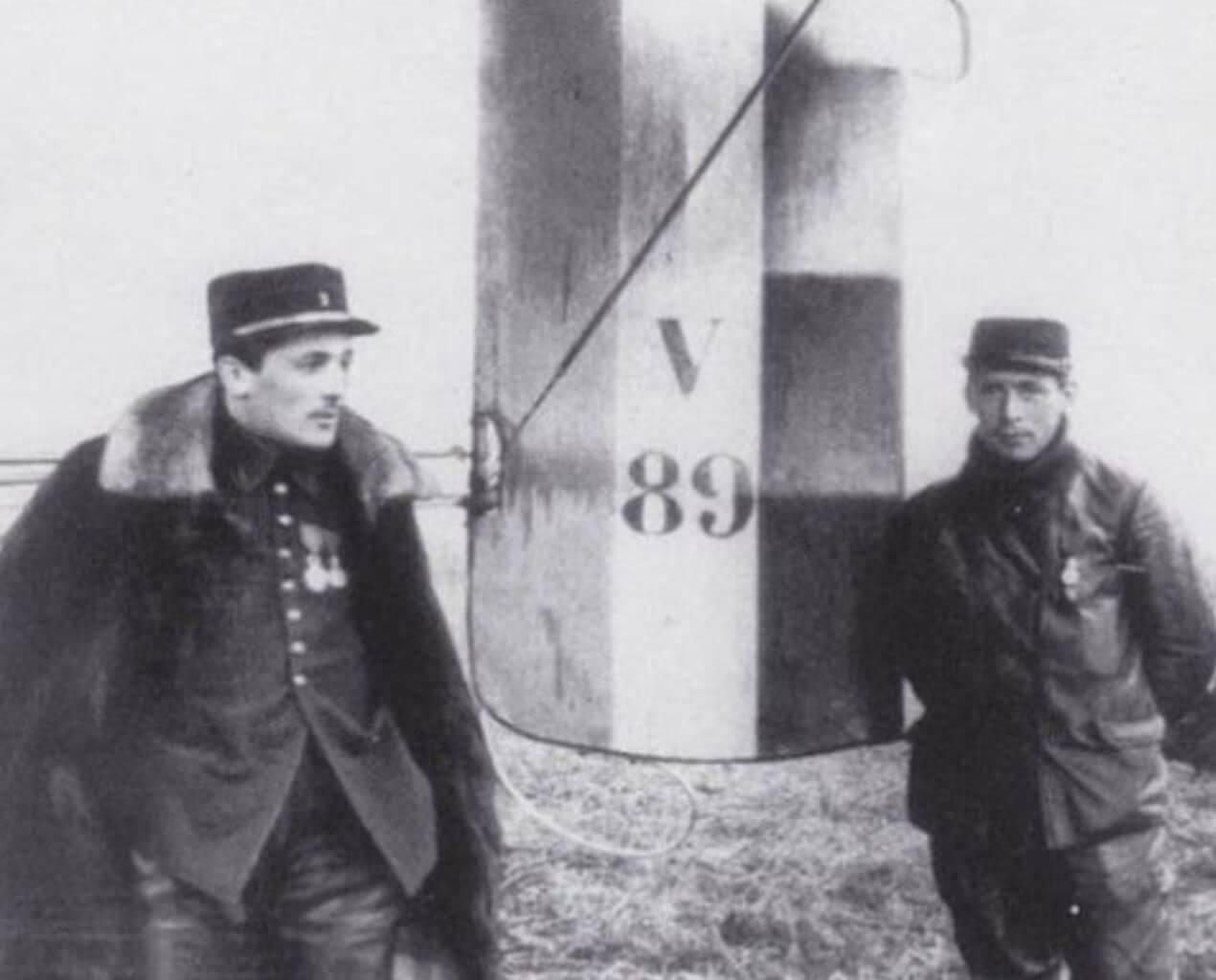 Le 05 Octobre 1914  : Le premier de tous les combats aériens -Histoire  Frantz-et-Quenault